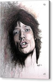 Gimme Shelter Acrylic Print by William Walts