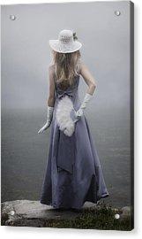 Girl With Fan Acrylic Print by Joana Kruse