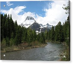 Glacier National Park Acrylic Print by Russell Christie
