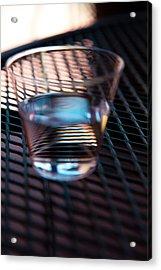 Glass Half Full Acrylic Print by David Patterson