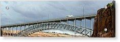 Glen Canyon Dam Bridge Acrylic Print by Jim West