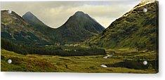 Glen Etive Highlands Of Scotland Acrylic Print by Jane McIlroy