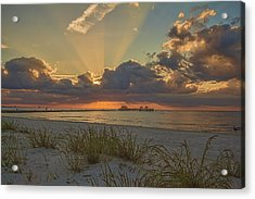 Glorious Acrylic Print by Brian Wright