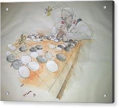 Go Album Acrylic Print by Debbi Saccomanno Chan
