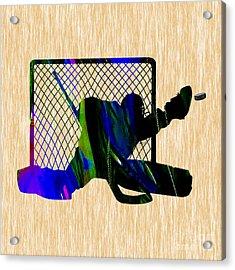 Goalie Acrylic Print