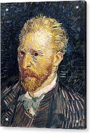 Gogh, Vincent Van 1853-1890. Self Acrylic Print by Everett