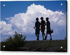 Going Fishing Acrylic Print by Randall Nyhof