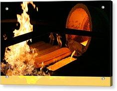 Gold Refinery Acrylic Print