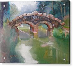 Golden Gate Park Footbridge Stowe Lake Acrylic Print