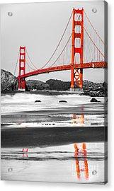 Golden Gate - San Francisco - California - Usa Acrylic Print