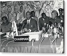 �good Neighbors� Conference, Dares Salaam, Tanzania Acrylic Print by Retro Images Archive