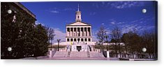 Government Building In A City Acrylic Print by Panoramic Images
