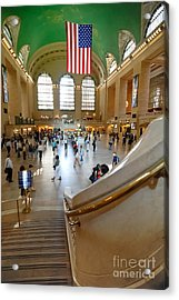 Grand Central Station New York City Acrylic Print by Amy Cicconi