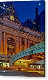 Grand Central Terminal Gct Nyc Acrylic Print