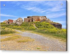 Grandes Rocques Fort - Guernsey Acrylic Print