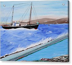 Grandpa's Boat Acrylic Print