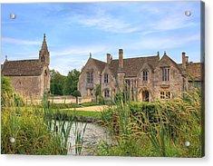 Great Chalfield Manor Acrylic Print by Joana Kruse