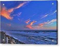 Great Highway Sunset Acrylic Print