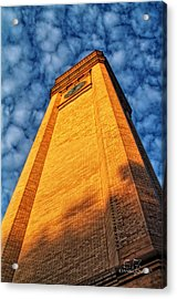 Great Northern Clock Tower Acrylic Print by Dan Quam