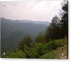 Great Smokey Mountain Acrylic Print by Celestial Images