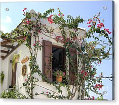 Greek Charm Acrylic Print