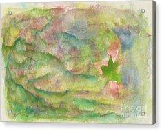 Green Pastures Acrylic Print