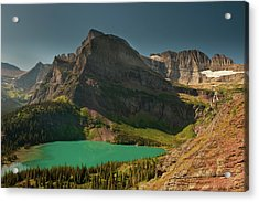 Grinnell Lake And Mount Gould, Glacier Acrylic Print
