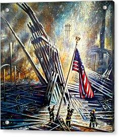Ground Zero 911  Acrylic Print