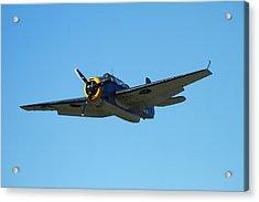 Grumman Avenger (with Folding Wings Acrylic Print