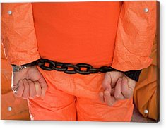 Guantanamo Protest Acrylic Print by Jim West