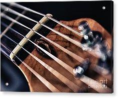 Guitar Strings Acrylic Print