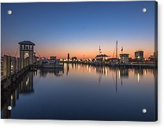 Gulfport Harbor Acrylic Print by Brian Wright