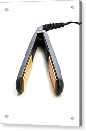 Hair Straighteners Acrylic Print