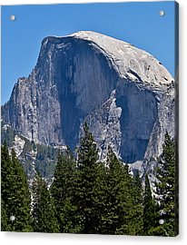 Acrylic Print featuring the photograph Half Dome by Brian Williamson