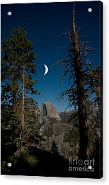Half Dome, Yosemite Np Acrylic Print by Mark Newman
