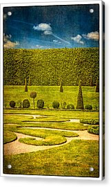 Hampton Court 'the Privy Garden Acrylic Print