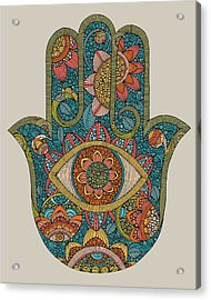 Hamsa Acrylic Print