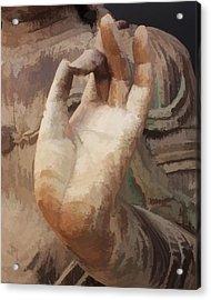 Hand Of Buddha C2014 Acrylic Print