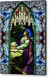 Handel Stained Glass Acrylic Print
