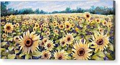 Happiness Field Acrylic Print