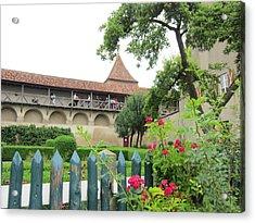Harburg Castle Acrylic Print by Pema Hou