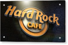 Hard Rock Cafe Logo Acrylic Print