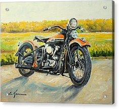 Harley Davidson 1946 Acrylic Print