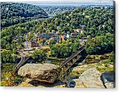 Harpers Ferry West Virginia Acrylic Print by Mountain Dreams