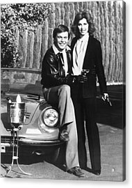 Hart To Hart  Acrylic Print by Silver Screen