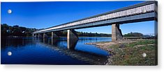 Hartland Bridge, Worlds Longest Covered Acrylic Print by Panoramic Images