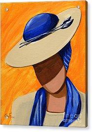 Hats For A Princess Acrylic Print
