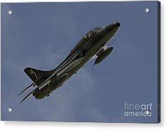 Hawker Hunter Acrylic Print by J Biggadike