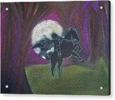 Headless Horseman  Acrylic Print by Kae Mangan