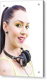 Headphones Acrylic Print by Jorgo Photography - Wall Art Gallery